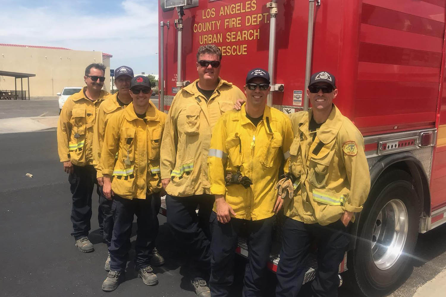 Shortly after last week's back-to-back earthquakes, the Los Angeles County Fire Department (LACoFD) deployed members of its Urban Search and Rescue (USAR) and Hazardous Materials (HazMat) teams to assist with recovery efforts in Kern County.