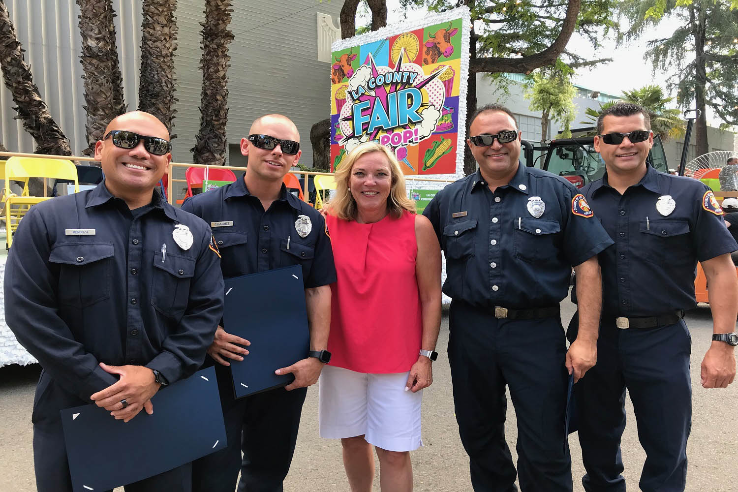 On Sunday, September 1, 2019, First District Supervisor Hilda Solis hosted her Community Heroes reception at the Los Angeles County Fair in Pomona.